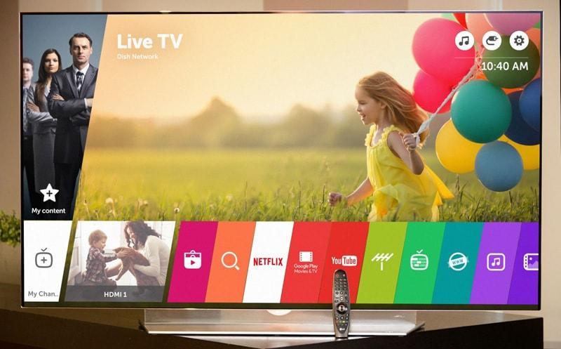 LG TV - Web OS - webOS 3.5