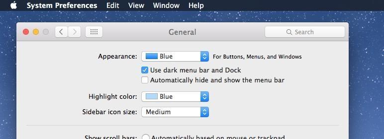 Apple MacBook porodica - 8 - tamna tema