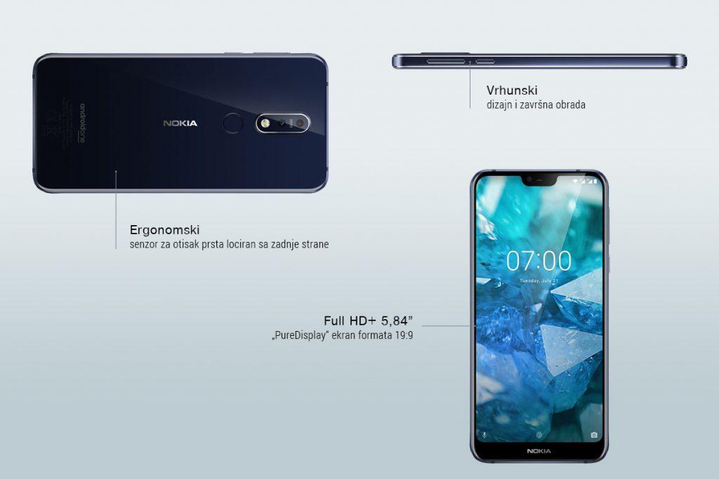 Nokia 7.1 - karakteristike