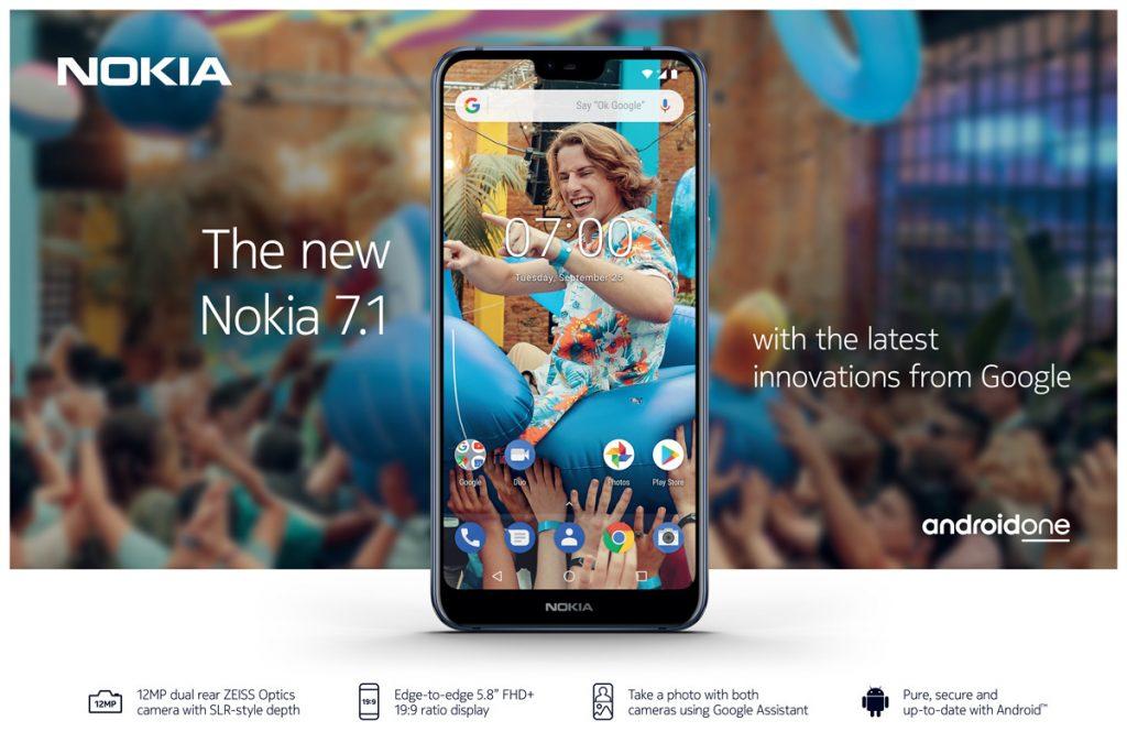 Nokia 7.1 - u prodaji