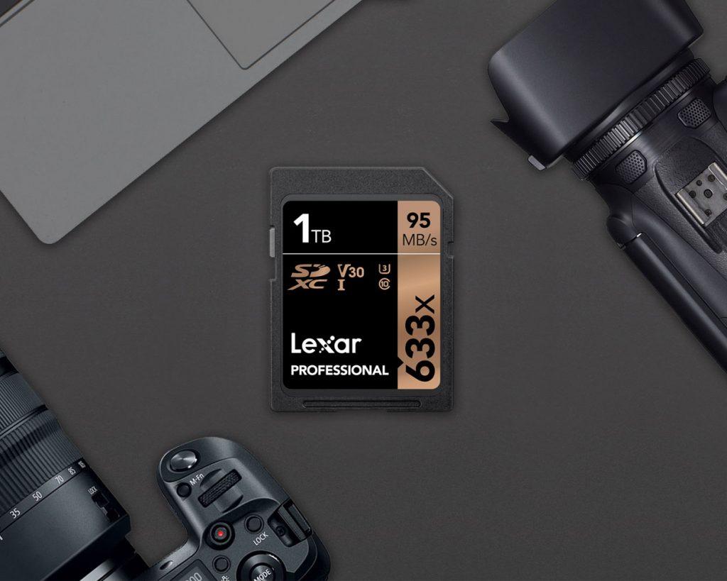 Lexar SDXC 1TB memorijska kartica - 01