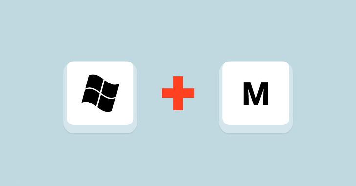 Prečice na tastaturi - Minimize