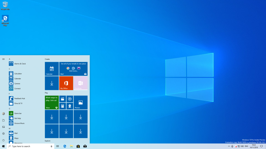 Windows 10 May 2019 Update: 10 najboljih novih funkcija - Svetla tema (Light Theme)