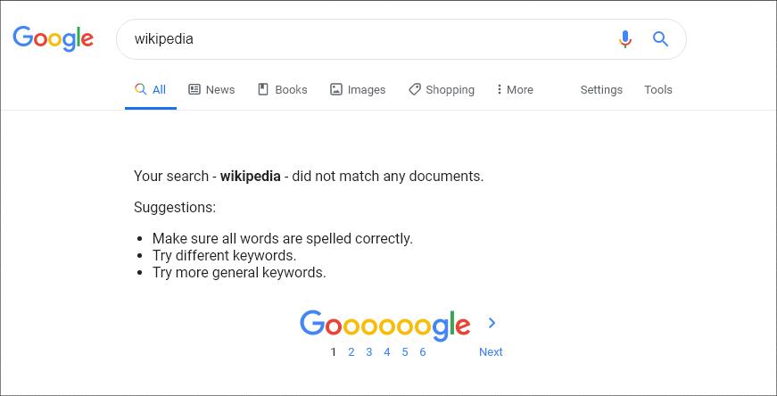 Pokvario se Google: greška u najvećem svetskom internet pretraživaču - 02