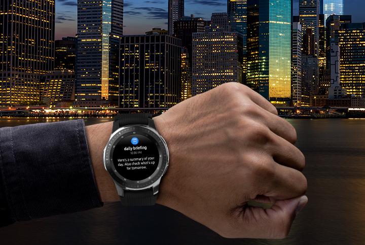 Samsung Galaxy Watch pametni sat - Daily Briefing obaveštenje