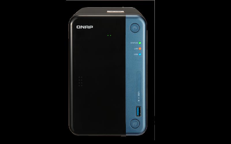 QNAP TS-253Be NAS uređaj - prednja strana