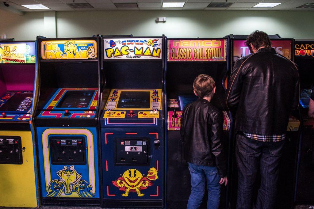 Arkadne video-igre u zabavnom parku