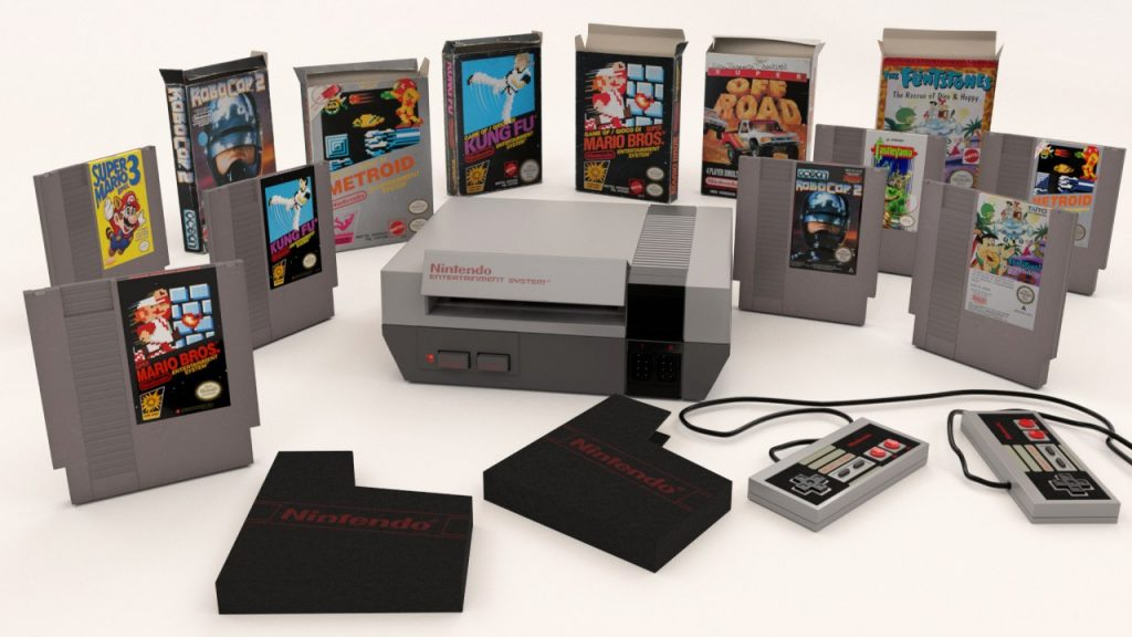 Nintendo Entertainment System - NES - kućna gaming konzola iz 1985. godine