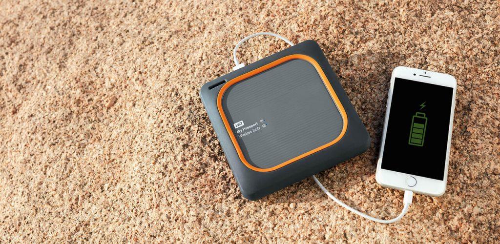 WD My Passport bežični SSD uređaj sa ugrađenom baterijom za punjenje mobilnih uređaja