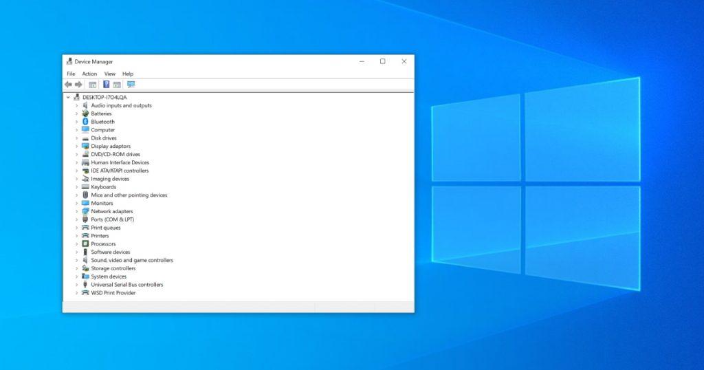 5 načina kako da otvorite Device Manager na Windows 10 operativnom sistemu - 01