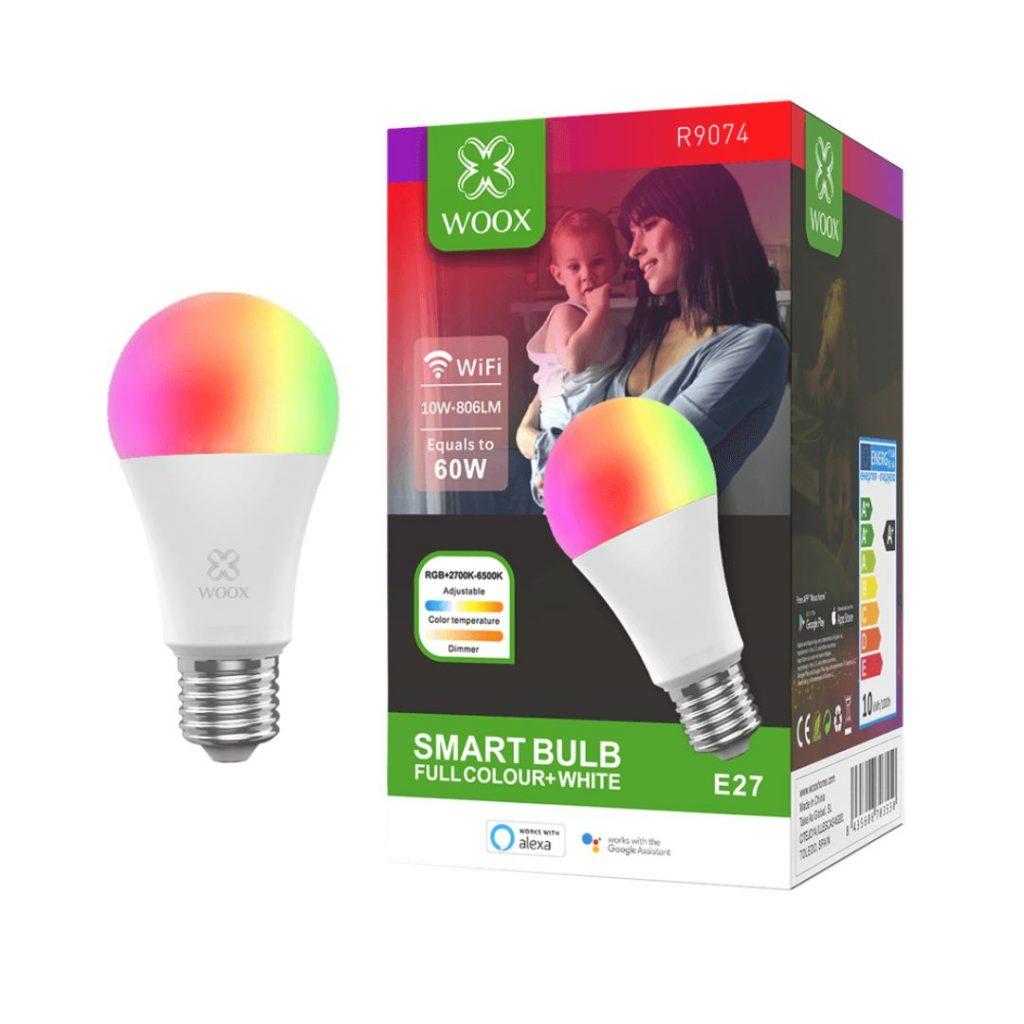 Woox RGB LED pametna sijalica, E27 grlo