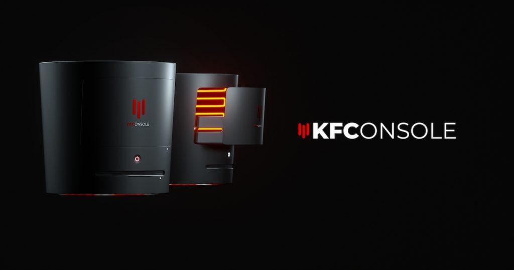 KFC gaming konzola koja greje piletinu - 01