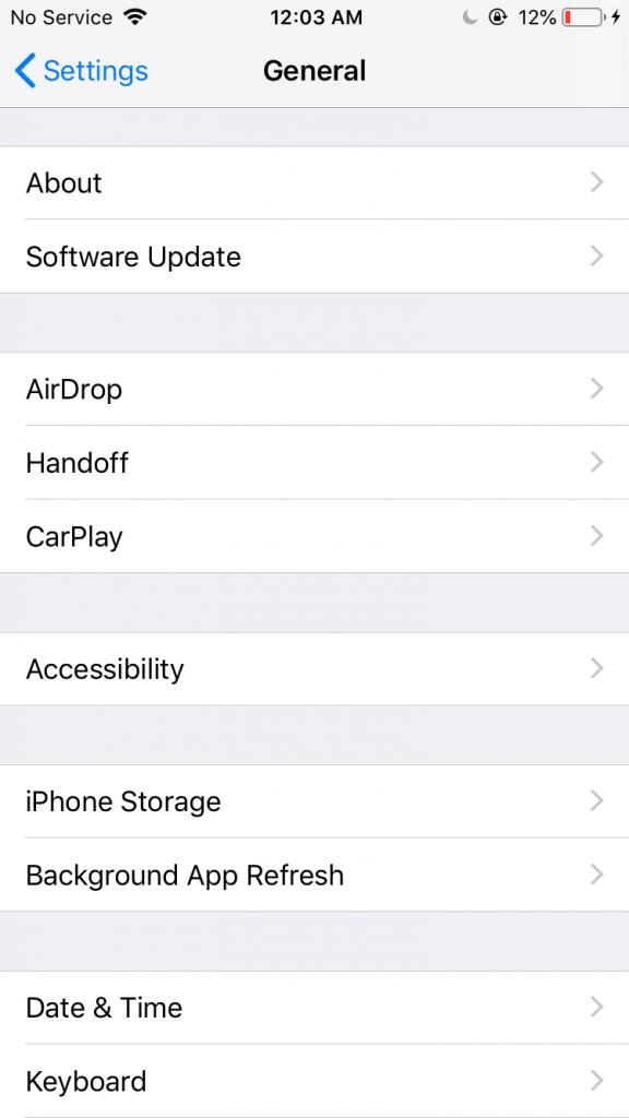 Ažuriranje iOS operativnog sistema na iPhone-u - 04