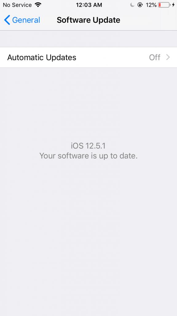 Ažuriranje iOS operativnog sistema na iPhone-u - 05