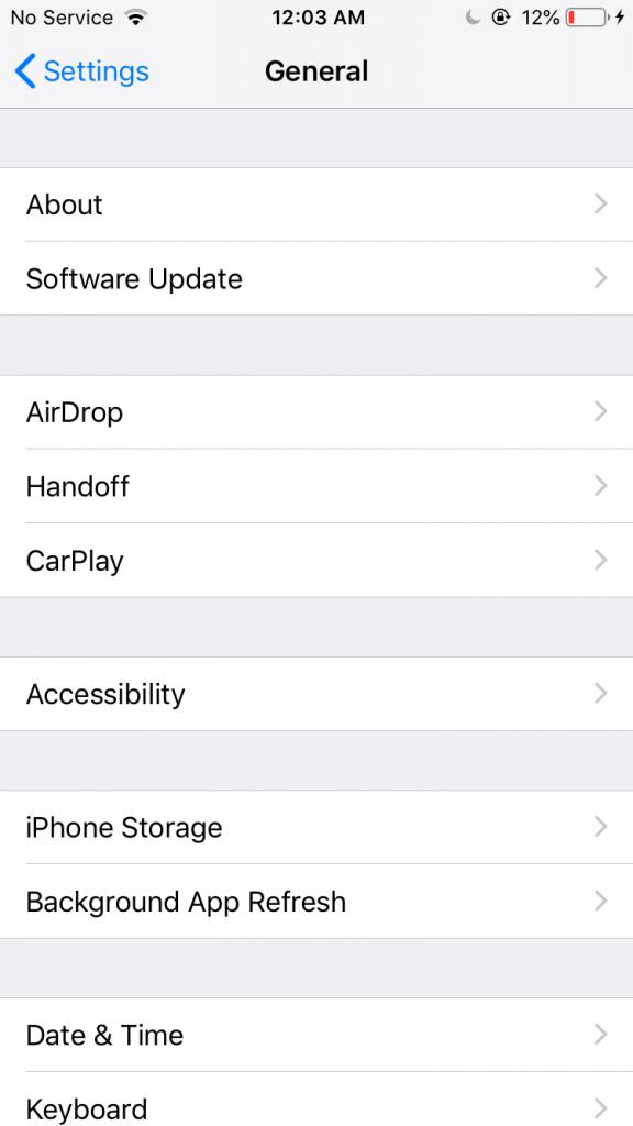 Provera verzije iOS operativnog sistema na iPhone-u - 02