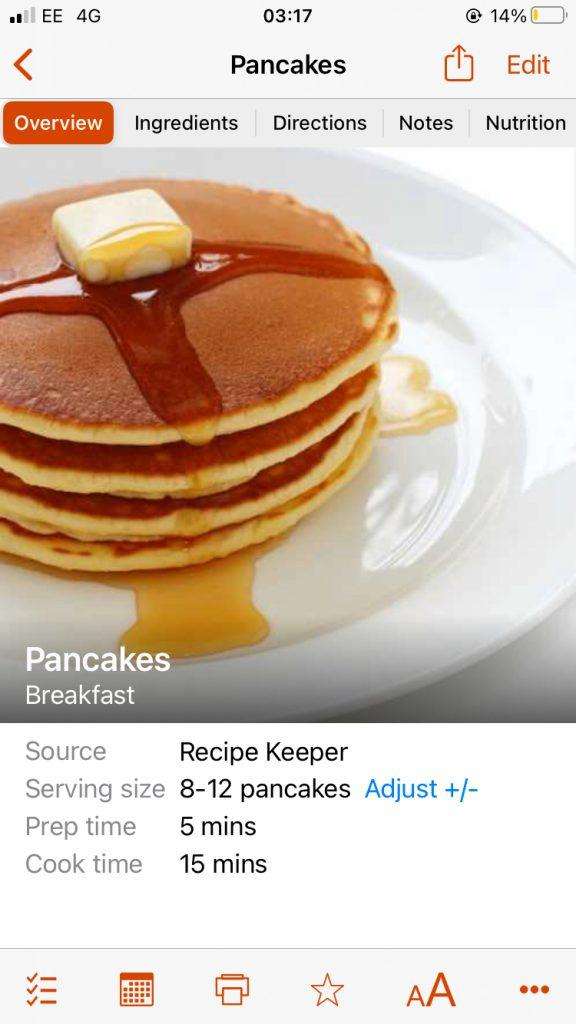 Recipe Keeper - Screenshot 3