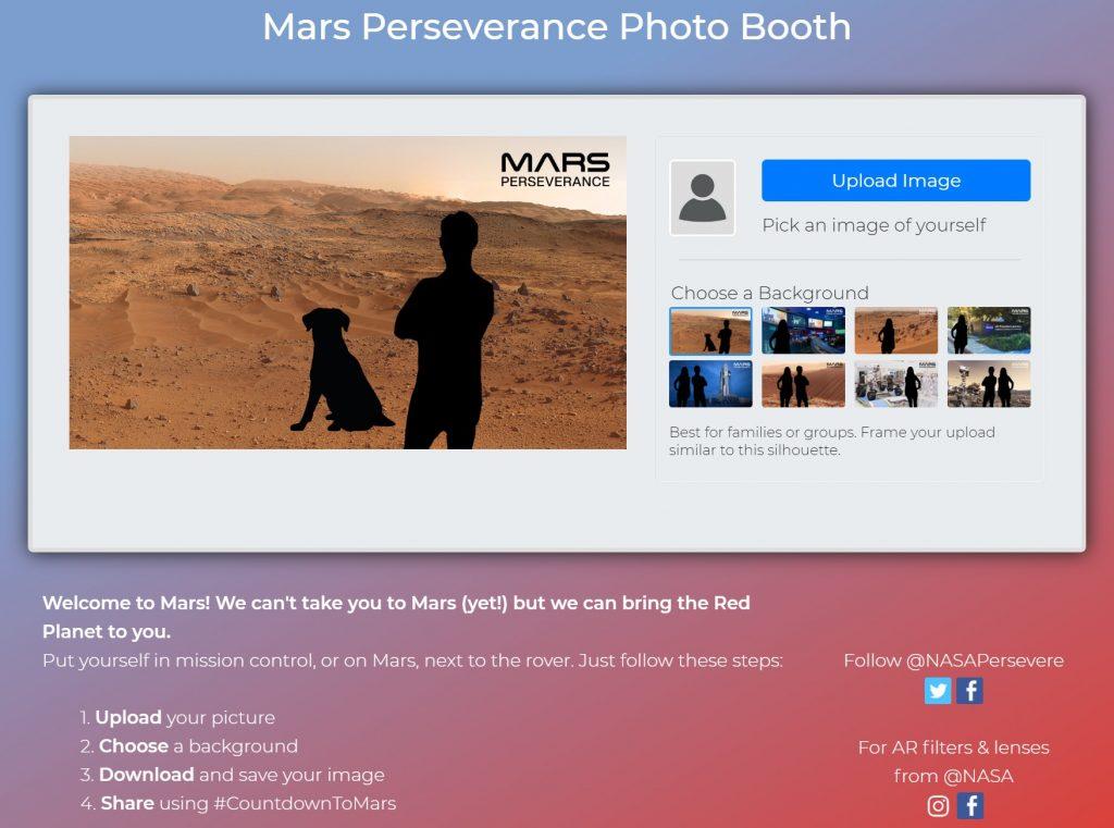 Napravite selfi na Marsu uz NASA Online Photo Booth - 03