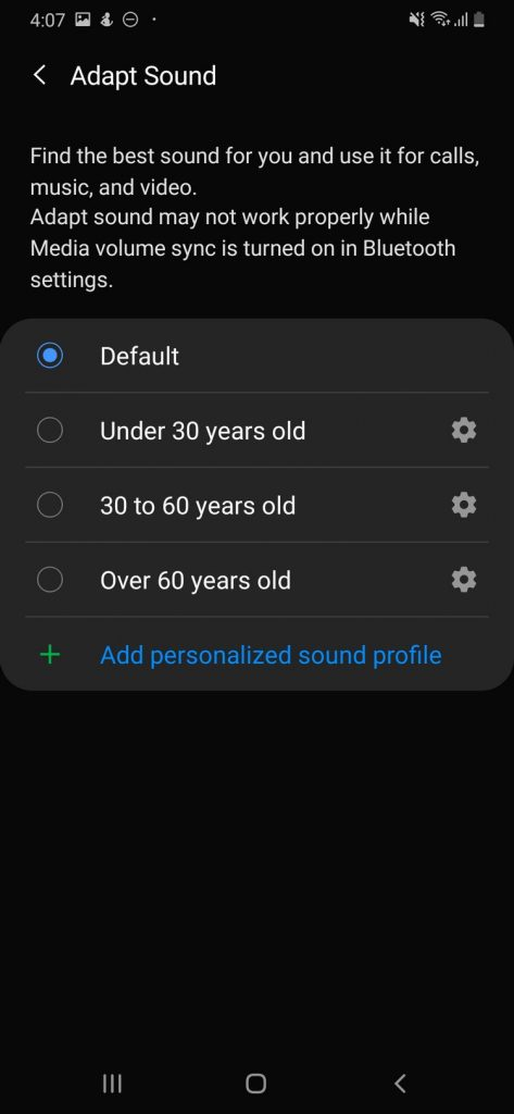 Spotify - Android - Adapt Sound