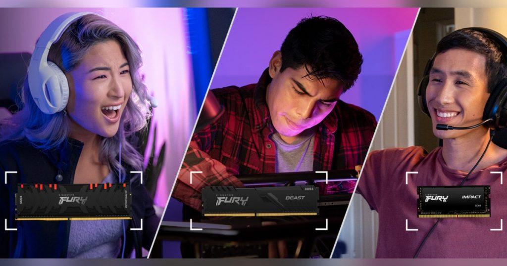 FURY je novi gaming brend kompanije Kingston