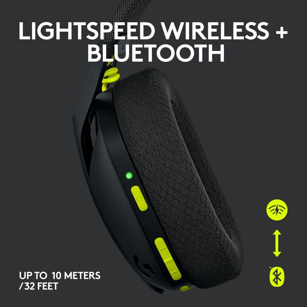 Logitech G435 LIGHTSPEED - opcije povezivanja